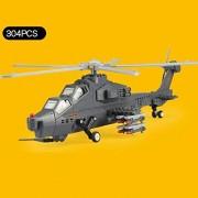 WZJ-Puzzle Serie Militar combatiente de plástico Modelo 3D Puzzle Infantil Puzzle Salud Building Blocks Seguridad y ( Color : B )