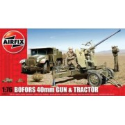 Airfix Bofors 40Mm Gun And Tractor
