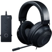 HEADPHONES, RAZER Kraken Tournament Ed., Gaming, Microphone,Full Audio Controls, THX Spatial, Black (RZ04-02051000-R3M1)
