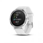 """Garmin Vívoactive 3 Reloj Inteligente con GPS, Estándar, 1.2"""", White with Stainless"""
