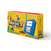 Nintendo 2DS Console, Electric Blue with Game Super Mario Bros. 2 Standard Edition