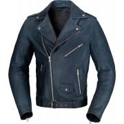 Büse Lancaster Motorcykel läder jacka 58 Blå