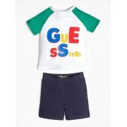 Guess Zestaw T-Shirt Z Logo I Szorty