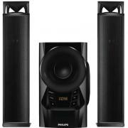 Philips MMS2160B/94 60 W Bluetooth Home Audio Speaker (Black, 2.1 Channel)