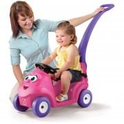 STEP2 carrito buggy sonrisa y pasea, rosa montable para niña
