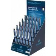 SIS Display SCHNEIDER One Hybrid N 30 rollere cu cerneala 0.3mm - 12x albastru negru 3x rosu verde