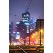 Warszawa City - plakat premium