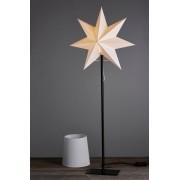 FROZEN jul/bordslampa - hög Svart/vit