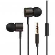 Audífonos Estéreo HD Manos Libres Deportivos, KDK-206 En El Oído Estéreo Bajo Se Divierte El Auricular Earbud Del Metal Para Smartphone (Brown)
