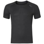 Odlo Cubic - Maglietta tecnica alpinismo - uomo - Ebony Grey - Black