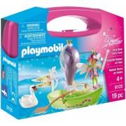Set Portabil- Barcuta Cu Zane Playmobil