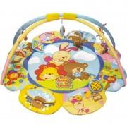 Saltea de joaca Baby Animal Baby Mix