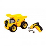Toystate Caterpillar Construction Take-A-Part Trucks: Dump Truck