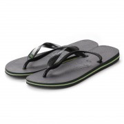【SALE 20%OFF】ハワイアナス havaianas BRASIL LOGO (adult sizes) (black / black) レディース メンズ