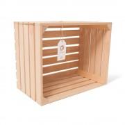 """Lădiță din lemn de fag 45 x 35 x 25 cm """"Greuceanu"""""""