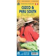 Wegenkaart - landkaart Cuzco Region - Cuzco & Peru South | ITMB