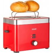 Graef Toaster TO 63, 2 kurze Schlitze, für 2 Scheiben, 888 W