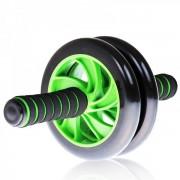 Roata Abdomen Dubla Aparat Fitness Double Wheel