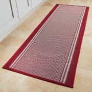 Burgundyundy Wine Kitchen Mat by Coopers of Stortford