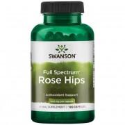 Swanson Šípek (Rose Hips) 500 mg 120 kapslí