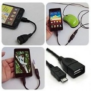 OTG adapter cable to connect micro USB V8 millet phone Samsung tablet CODEay-2461
