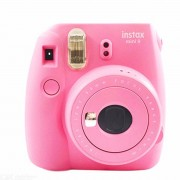 Fujifilm Instax Mini 9 Instant Camera With Flashing LED Selfie Mirror