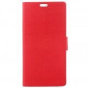 Nokia 8 Textured Wallet Case - Red