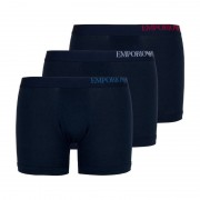 Emporio Armani 3-pack boxershorts trunk marine/marine/marine