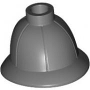 Lego Indiana Jones Dark Bluish Gray Minifig Headgear Pith Helmet - Lot of 10 Loose Parts