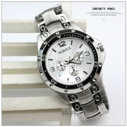 s48 Fashion Brand Men Full Stainless Steel Watch Rosra by miss