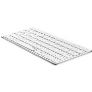 Rapoo / E6350-SLV Bluetooth Mini Keyboard - SILVER / Blade Series