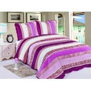 Cuvertură de pat Valentini Bianco Lilac