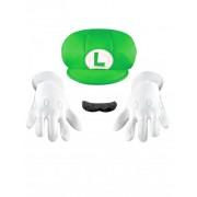 Vegaoo Luigi Accessoires-Set für Kinder