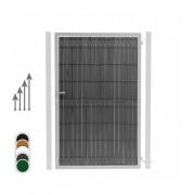 Kit Occultation PVC Portillon - Couleur - Noir 9005, Hauteur - Ht 1m73