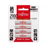 4 buc Baterii reîncărcabile AA NiMH/2700mAh/1,2V