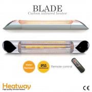 Luxway Terrassvärmare Heatway Blade Silver 2000W