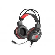 GENESIS Herní sluchátka s mikrofonem Genesis Neon 350, Stereo, Vibrace, červen