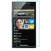 Blackberry Z3 TEMPERED GLASS 9H Hardness 2.5D Curved Edge Ultra Clear Anti-Scratch Bubble Free Anti-Fingerprints.