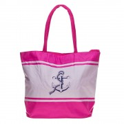 2702 rózsaszín strand táska