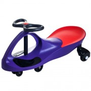 Ride on Toy Wiggle Car by Lil' Rider - Ride on Toys for Boys and Girls, 2 year old and up, (Purple)