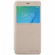 Husa Huawei Nova Nillkin Sparkle S-View Flip Auriu