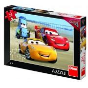 Puzzle Cars 3 la mare Dino Toys, 24 piese, 4 ani+