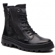 Туристически oбувки PALLADIUM - Pallabosse Hi Zip 95941-010-M Black/Black