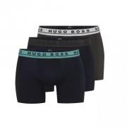 Hugo Boss heren boxershorts brief - blauw/khaki