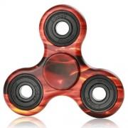 Fidget Spinner camuflaj - portocaliu
