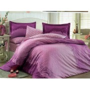 Lenjerie de pat King Hobby Home Satin DELUX Filomena Purple