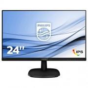 Philips Full-HD-LCD-monitor 243 V7qdsb/00 – computerschermen (60,5 cm (23.8 inch), 250 CD/M², 1920 x 1080 Pixels, 5 ms, LED, Full HD)