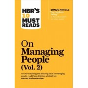 "Hbr's 10 Must Reads on Managing People, Vol. 2 (with Bonus Article ""the Feedback Fallacy"" by Marcus Buckingham and Ashley Goodall), Paperback/Harvard Business Review"
