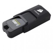 128GB USB Flash Drive, Corsair Flash Voyager Slider X1, USB 3.0, черна