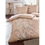 Estella Bettbezug ca. 155x200cm, Kissenbezug ca. 80x80cm Estella beige Wohnen beige